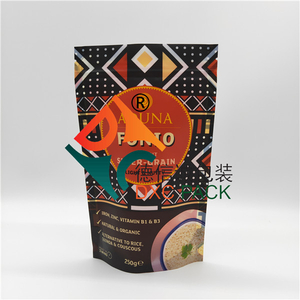Custom Printed Fully Recyclable Stand Up Pouches with Zipper for Pet Food Packaging