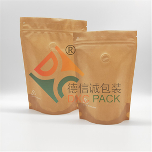 100% Recyclable Printed Standing Zip Lock Pouch for Health food packaging