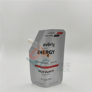 High Barrier Foil Spout Pouch For Energy Drinks