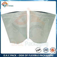 Customized Aluminum Foil Zipper Stand Up Pouches for Grain Food Packaging