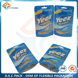 Custom Printing Zip Closure Stand Up Pouches for Grain Food Packaging