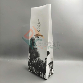 1kg Kraft Side gusseted Coffee Bags with K-seal Bottom