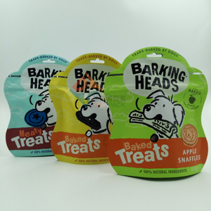 Aluminum Foil Shaped Stand Up Pouch Used for Pet Food Packaging