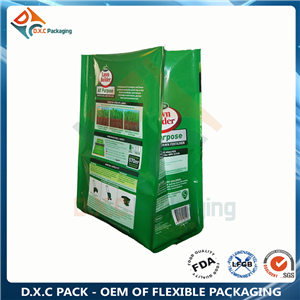 5kg- 15kg large dog food packing side gusset pouch with nylon material