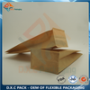 Kraft Paper Flat Bottom Pouch with Coffee Packaging Valve