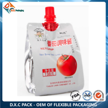Custom Printing Aluminum Foil Sauce Packaging Bag